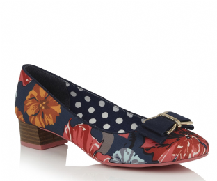 Ruby Shoo June Floral Womens Shoes